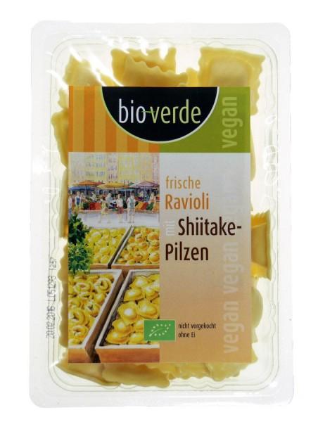 Frische Ravioli mit Shiitake-Pilz-Füllung vegan, 250g
