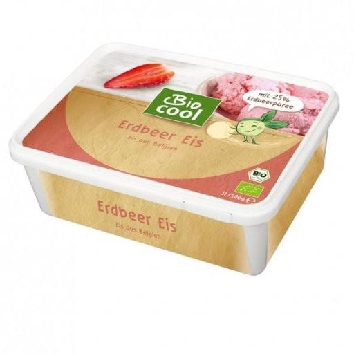 Familieneisbecher Erdbeer, 1,0l