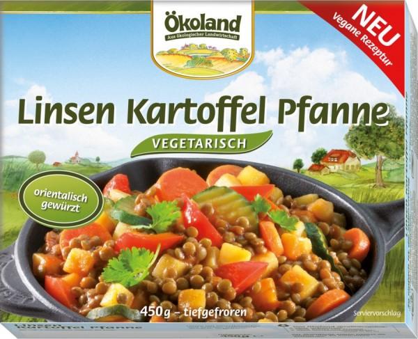 TK-Linsen-Kartoffel-Pfanne orientalisch, 450g