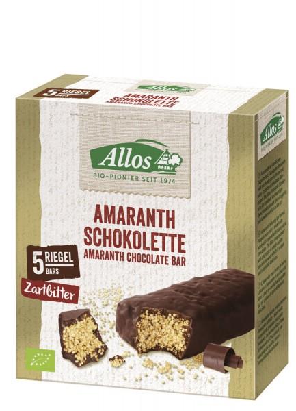 Amaranth-Schokolette Zartbitter - 5er-Pack, 5x28g