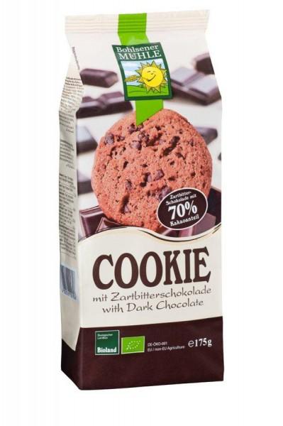 Cookies Zartbitterschokolade BIOLAND, 175g