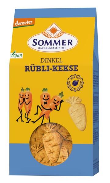 Dinkel-Rüblikekse DEMETER, 150g