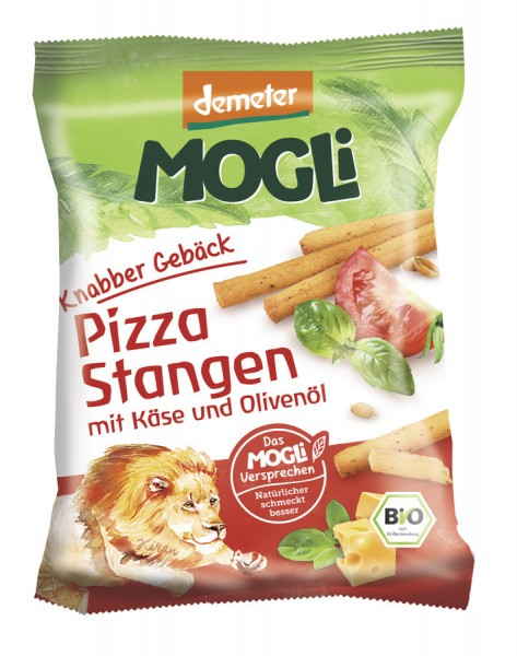 Dschungel-Sticks - Pizza-Stangengebäck DEMETER, 75g
