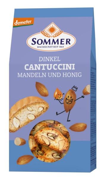 Dinkel-Cantuccini mit Mandeln DEMETER, 150g