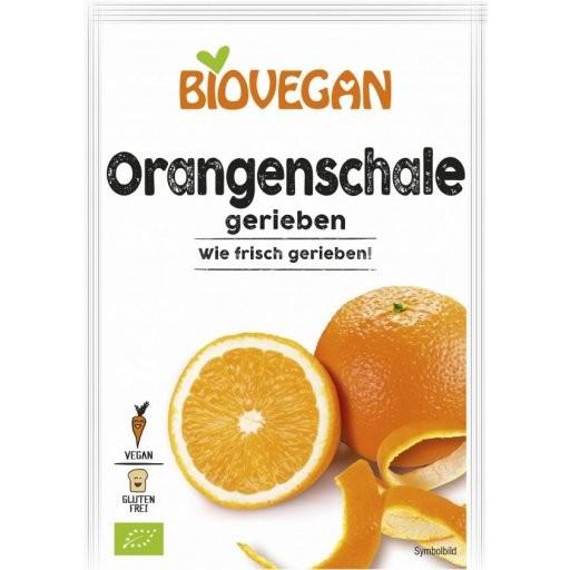 Orangenschale gerieben glutenfrei, 9g