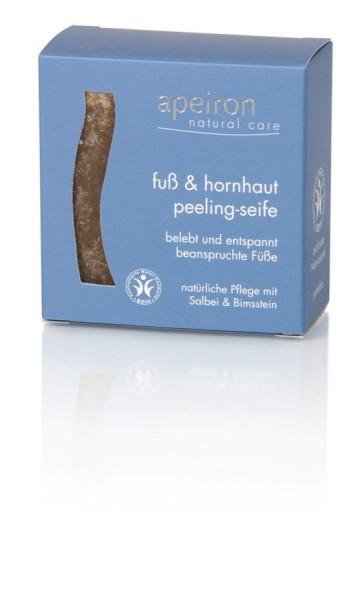 Fuß- & Hornhaut Peeling-Seife, 100g