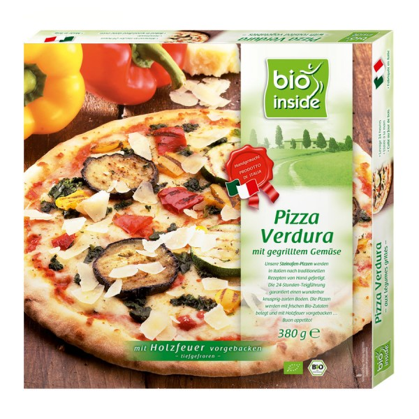 TK-Pizza Verdura bio inside, 380g