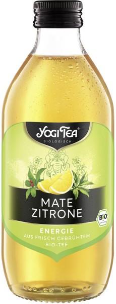 YOGI TEA Mate-Zitrone mit grünem Tee, 0,33l