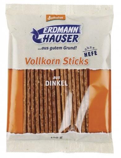 Vollkorn Sticks aus Dinkel hefefrei, 100g