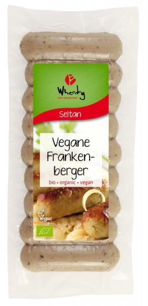 WHEATY Veganwurst Frankenberger 9St, 200g