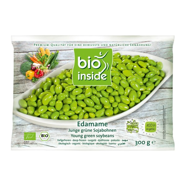 TK-Edamame-Bohnen grün ohne Schale bio-inside, 300g
