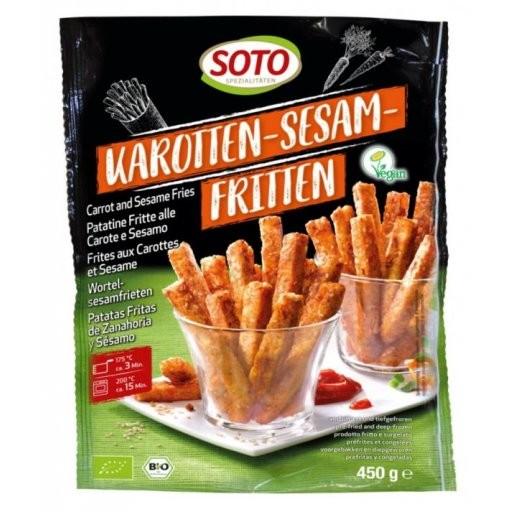 TK-Karotten-Sesam-Fritten, 450g