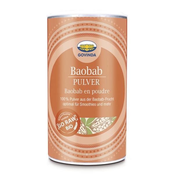 Baobab Pulver, 200g