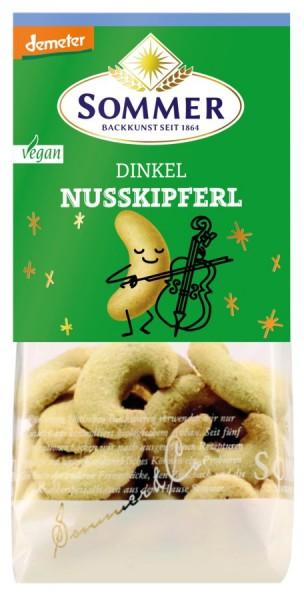 Dinkel-Nusskipferl DEMETER vegan, 150g