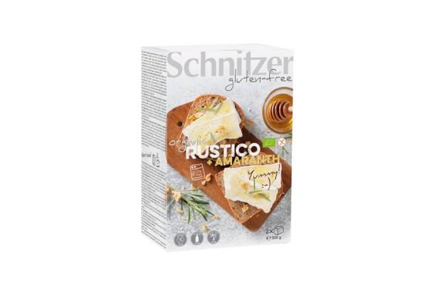 Rustico mit Amaranth glutenfrei, 500g