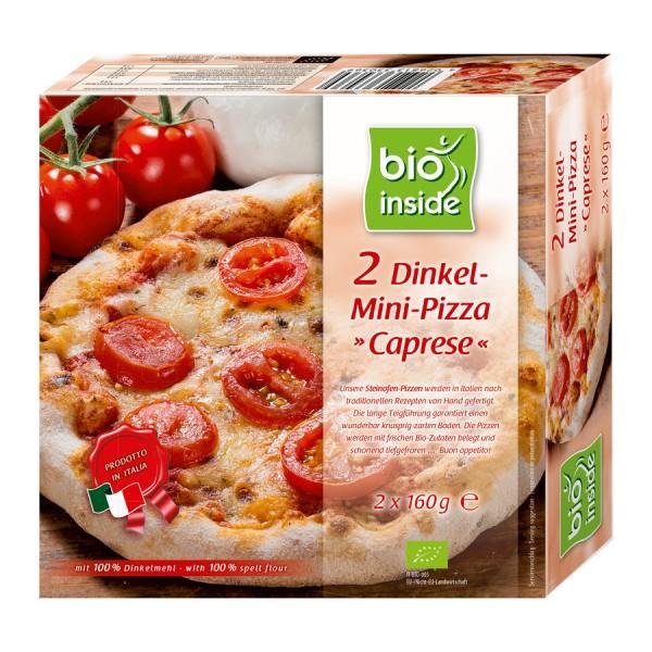TK-Mini-Pizzen Caprese bio inside, 2x160g