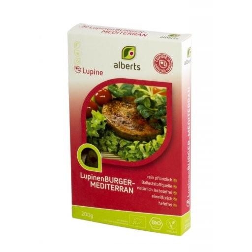 Lupinen-Burger mediterran, 200g