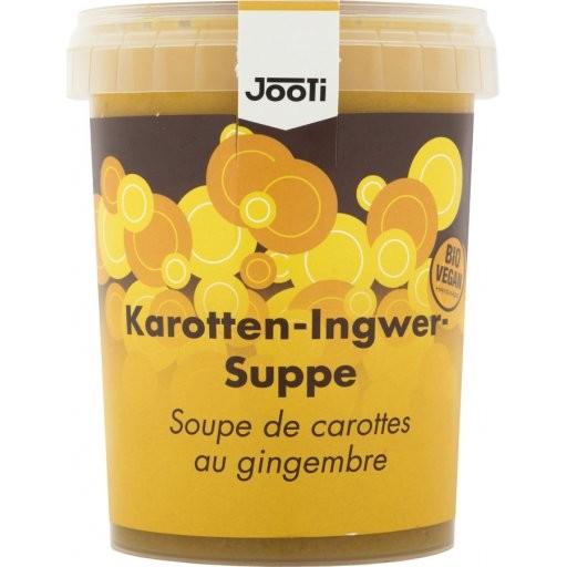 Frische Karotten-Ingwer-Suppe, 450g