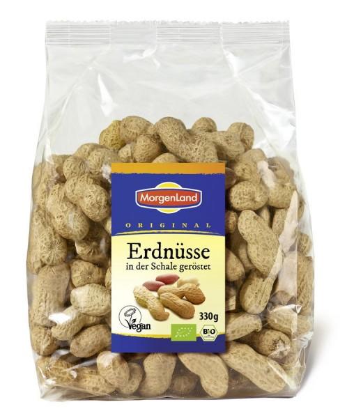 Erdnüsse geröstet in der Schale, 330g