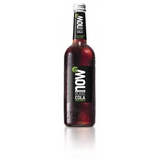 NOW Black Cola mit Guarana glutenfrei NATURLAND, 0,75l