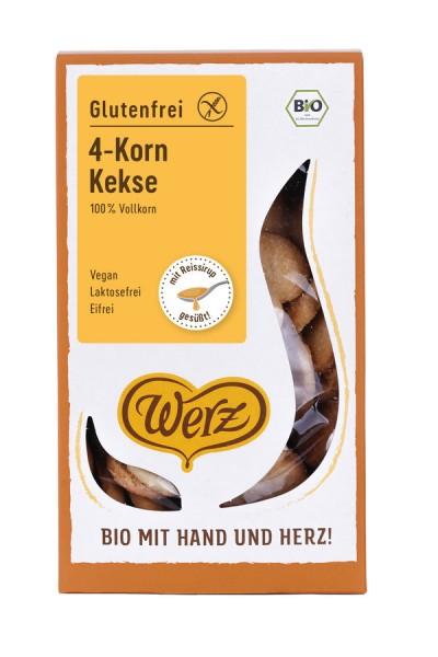 4-Korn-Vollkorn-Natur-Keks glutenfrei, 150g