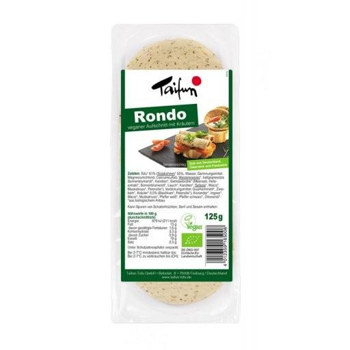 Tofu-Aufschnitt Rondo, 125g