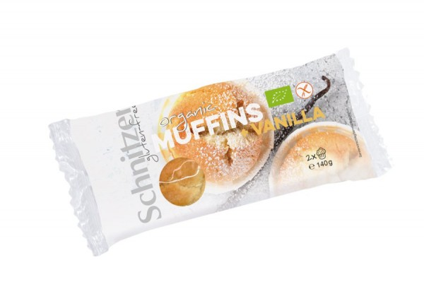 Muffins Vanille glutenfrei 2St, 140g