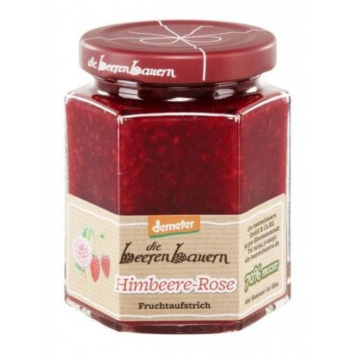 Aufstrich Himbeer-Rose DEMETER, 200g