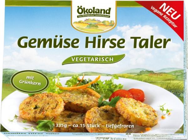 TK-Gemüse-Hirse-Taler 15St, 335g