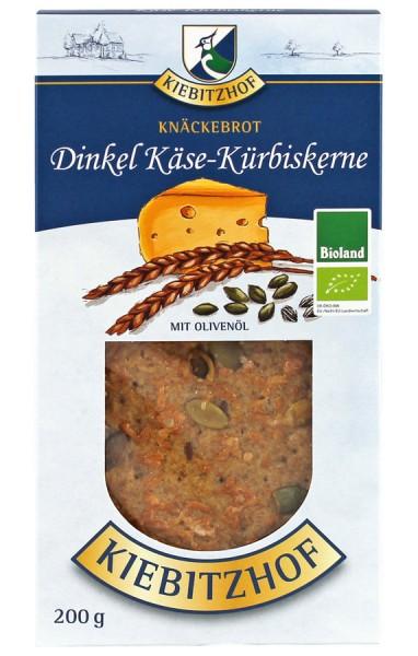 Knäckebrot Dinkel-Käse-Kürbiskerne BIOLAND, 200g
