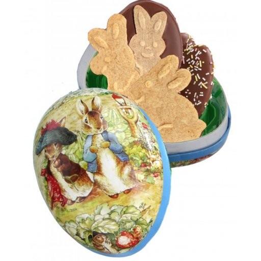 Füll-Osterei mit Schoko-Keksfiguren, Stück