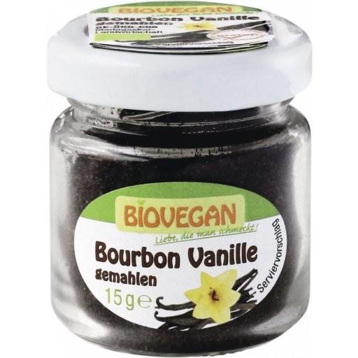 Bourbon-Vanille gemahlen - Glas, 15g