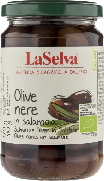 Oliven schwarz in Lake, 310g