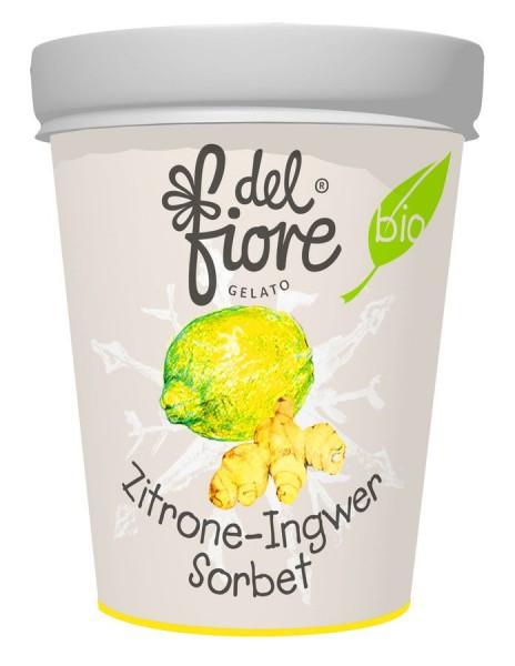 Eisbecher Zitrone & Ingwer Sorbet, 150ml