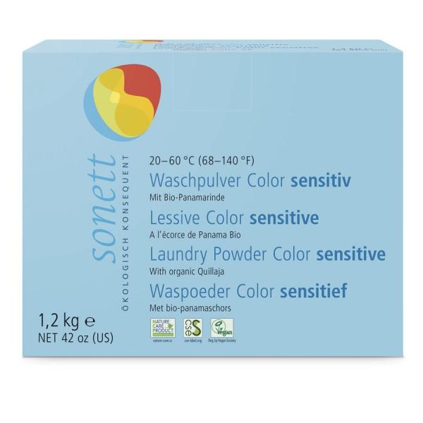 Waschpulver Color sensitiv, 1,2kg