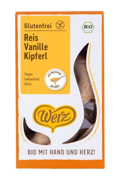 Reis-Vollkorn-Vanille-Kipferl glutenfrei, 125g