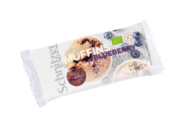 Muffins Blaubeere glutenfrei 2St, 140g