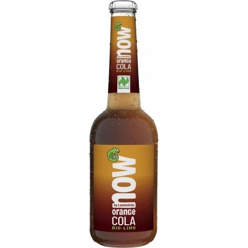 NOW Orange-Cola glutenfrei NATURLAND, 0,33l