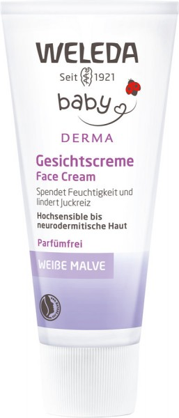 Weiße Malve Baby-Gesichtscreme, 50ml