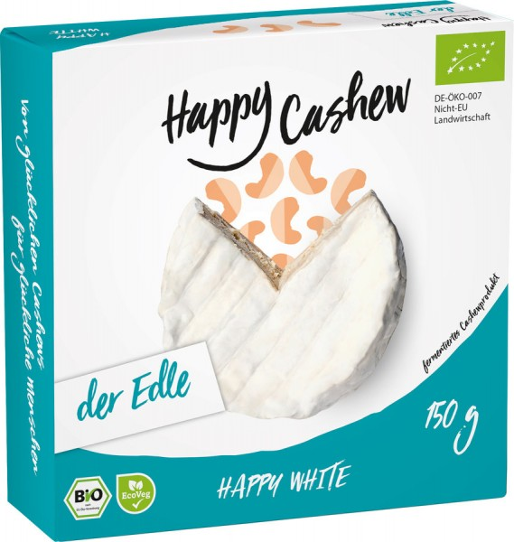 Happy White Camembert-Alternative vegan, 150g