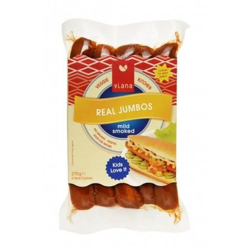 Real Jumbos Bratwurst vegetarisch 5St, 275g