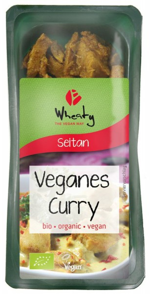 WHEATY Vegankebab Curry, 200g