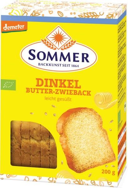 Dinkel Butter-Zwieback DEMETER, 200g