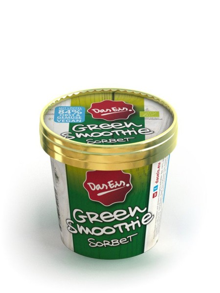 Eisbecher Green Smoothie Sorbet, 125ml