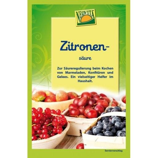 Zitronensäure zum Einkochen - KONVENTIONELL, 10g