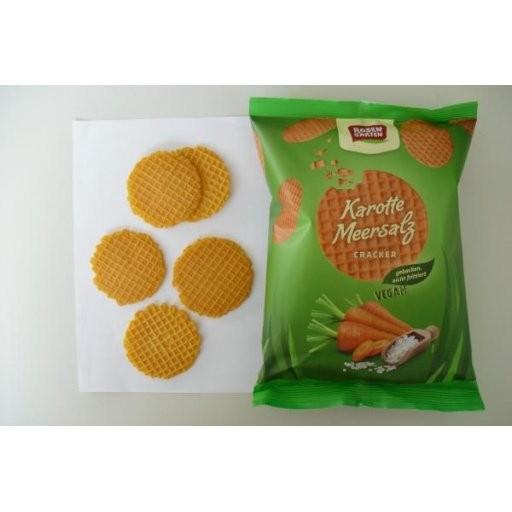 Dinkel-Cracker Karotte-Meersalz, 60g