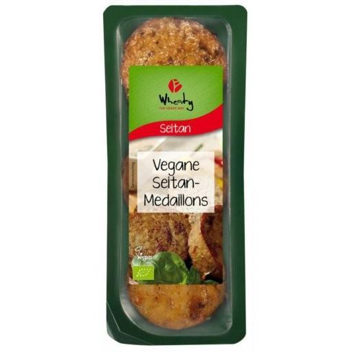 WHEATY Veganbratstück Seitanmedaillons, 175g