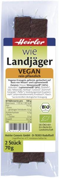Wie Landjäger vegetarisch 1Paar, 70g