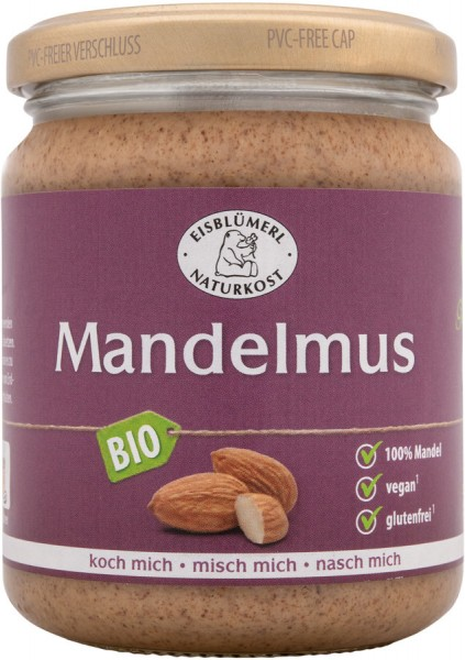 Mandelmus braun glutenfrei, 250g