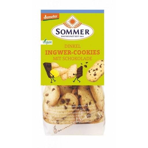 Dinkel-Ingwer-Cookies DEMETER, 150g